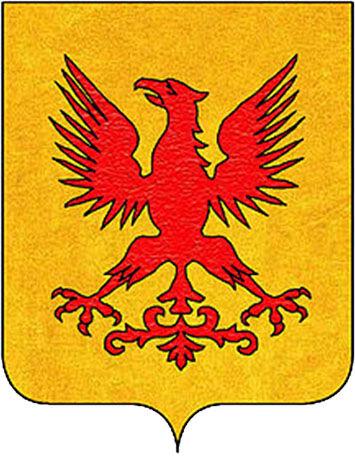 Aquila da Polenta stemma
