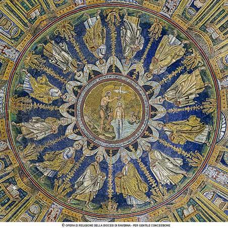 Battistero della Cattedrale o Neoniano a Ravenna