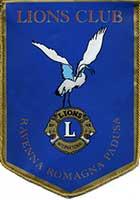 Guidoncino Lions Club Ravenna Romagna Padusa
